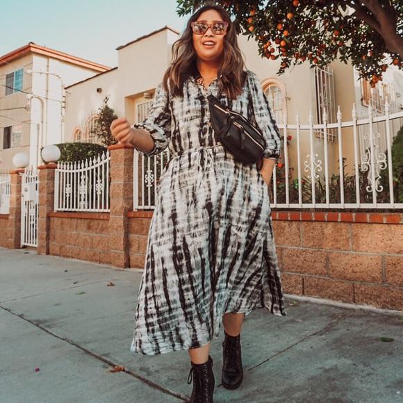 NEW: Who What Wear Tie Dye Dress